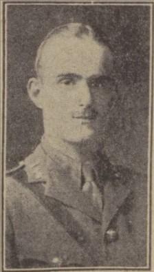 Second Lieutenant Norman Kirkby