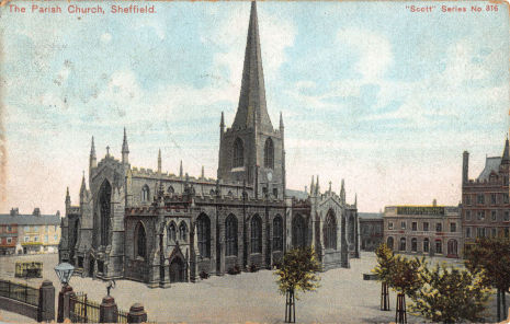 Sheffield Parish Church (later Cathedral Church of St. Peter and St. Paul)
