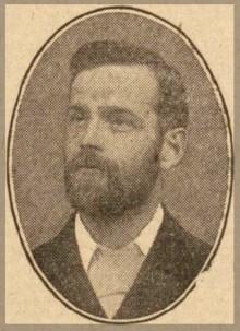 Rev. Jasper John Frewing in 1906