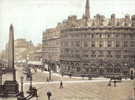 Yorkshire Penny Bank and Albany Hotel, Fargate