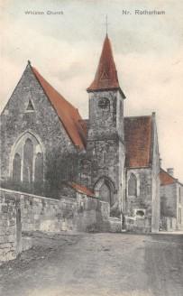 Whiston Parish Church, Rotherham, Yorkshire.