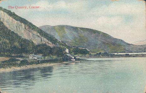 Crarae Quarry, Loch Fyneside