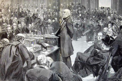 Mr Gladstone introduces the Home Rule Bill, 13 February 1893.