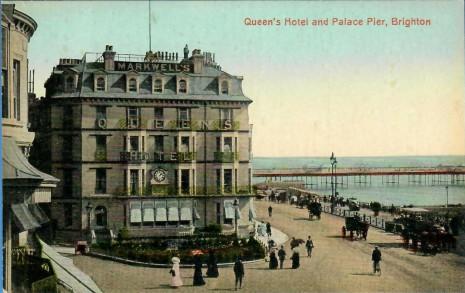 Marwell's Hotel, Kings Road, Brighton
