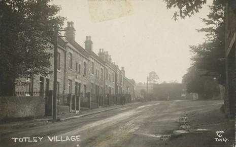 Grange Terrace, Totley, circa 1915