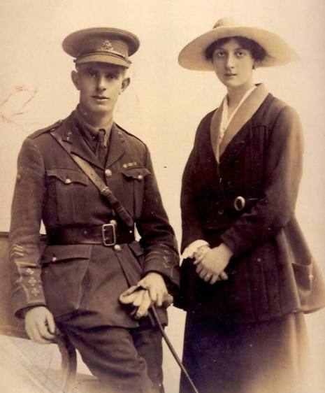 John Lakeman and Audrey Percival, 1918