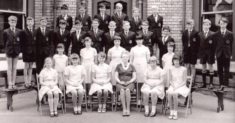 Oakwood Collegiate School, class photograph 1967