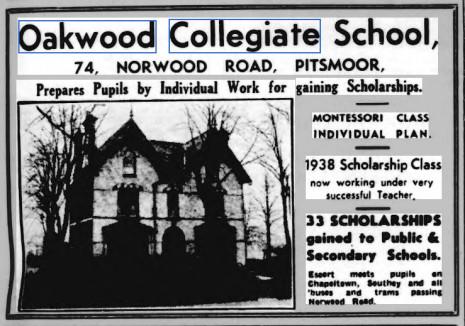 Advertisement 24 April 1937