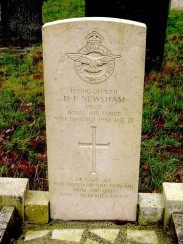 D.F. Newsham grave, Dore Christ Church