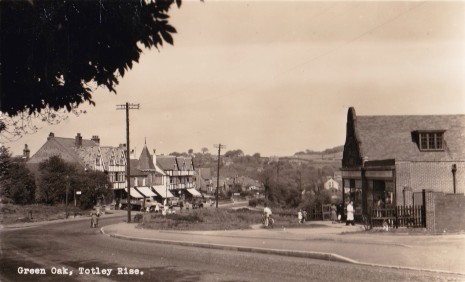Totley Co-op and Green Oak shops, 1950s