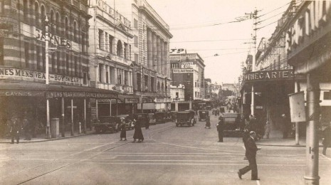 Murray Street, Perth in the 1920s