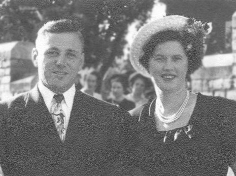 Jack and Mary Burrows