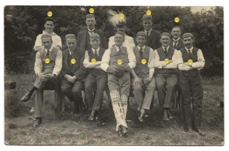 Photograph 4. Bowling team.