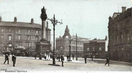 The Crimean War Memorial, Moorhead, Sheffield