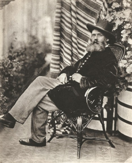 Tom Taylor, photographed by Lewis Carroll in 1863