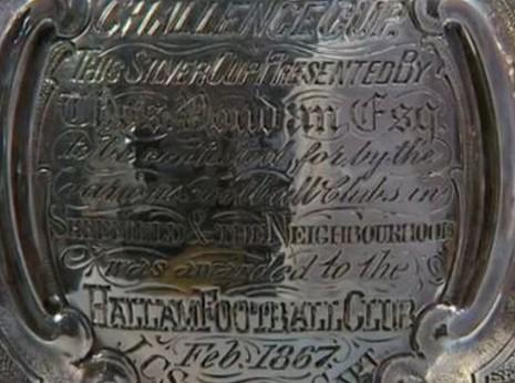 The Youdan Cup won by Hallam F.C. 1867
