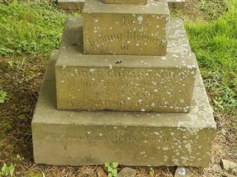 Gravestone of George Edward Hukin, razor grinder and friend of Edward Carpenter