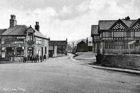 otley Hall Lane and Baslow Road junction