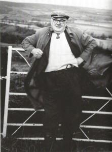 Frank Taylor near Fanshawegate, circa 1980