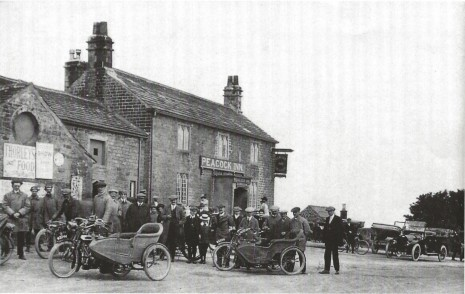 Peacock Inn, about 1913