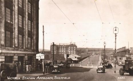 Station Approach, Sheffield Victoria