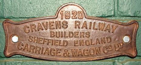 Cravens Railway Carriage Builders, Sheffield