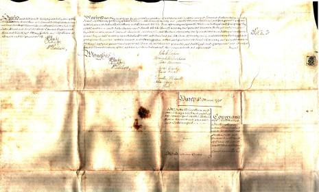 Conveyance, 3rd March 1778, part 3 (Reverse)