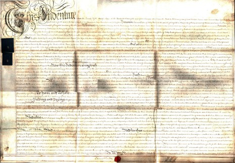 Mortgage,  25 May 1784, part 1