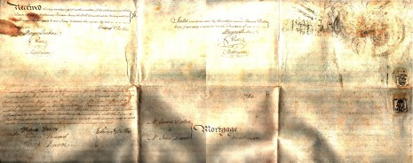 Mortgage,  25th May 1784, part 2 (reverse)