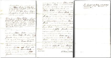 Memorandum dated 16th November 1844