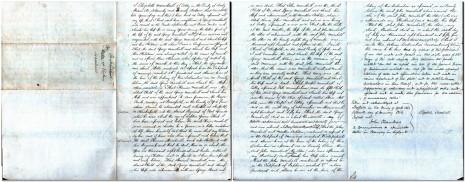 Declaration of Elizabeth Marshall, 15 January 1856