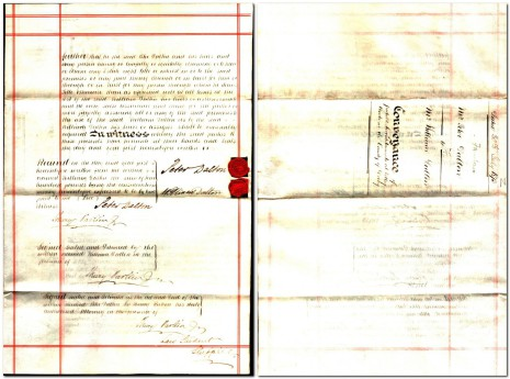 Conveyance dated 30 July 1873, parts 3 and 4