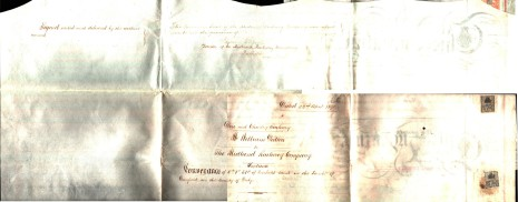 Conveyance dated 2 April 1890, part two (reverse)