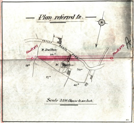 Conveyance dated 2 April 1890, Plan (enlarged)