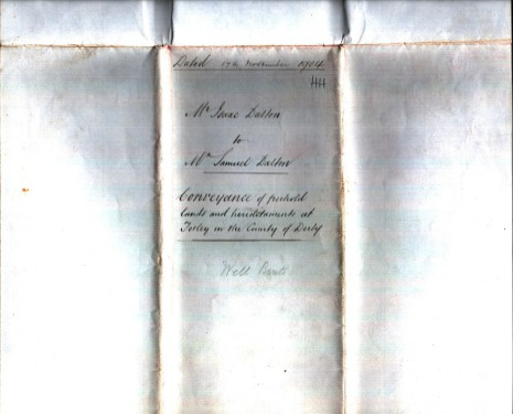 Conveyance dated 17th November 1904, part three