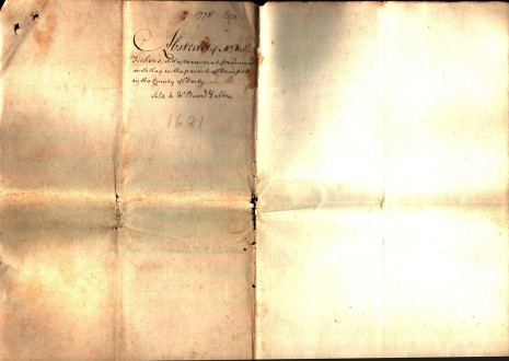 Abstract of Title dated 1778, part 4