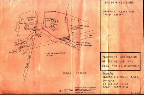 Surveyor's Plan, 30 December 1965